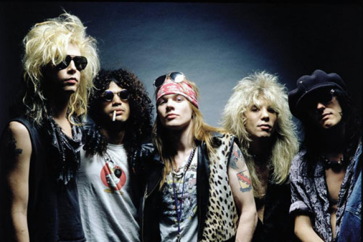 Guns' N Roses - Pressefotos 2004