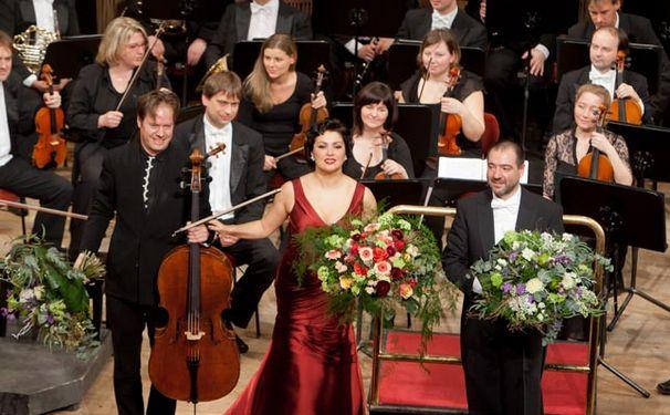 Anna Netrebko, Superstar Anna Netrebko glänzt bei der Radeberger Nacht der Stars