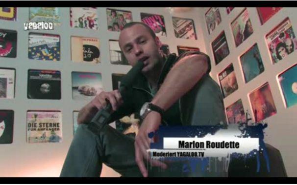 Marlon Roudette, Marlon wird zum Moderator: Checkt hier die aktuelle Yagaloo-Ausgabe