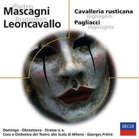 eloquence, Cavalleria rusticana / Pagliacci (QS), 00028948061273