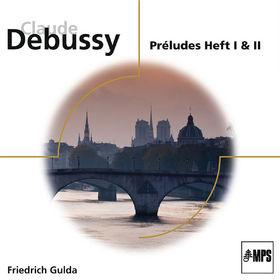 Friedrich Gulda, Debussy: Préludes Heft I & II (ELO), 00028948061235