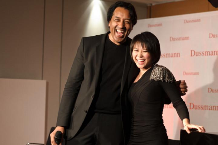 Yuja Wang und Cherno Jobatei bei Dussmann