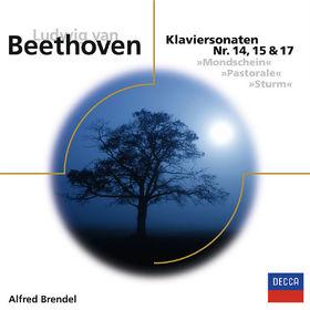 Alfred Brendel, Beethoven: Klaviersonaten Nr. 14, 15 & 17 (ELO), 00028948061204