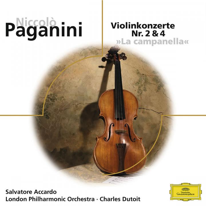 Violinkonzert Nr. 2,4: Accardo,Salvatore/LPO/Dutoit,Charles