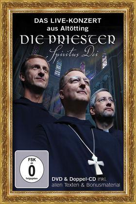 Die Priester, Spiritus Dei - Das Live-Konzert aus Altötting (DVD + Doppel-CD), 00602527989310