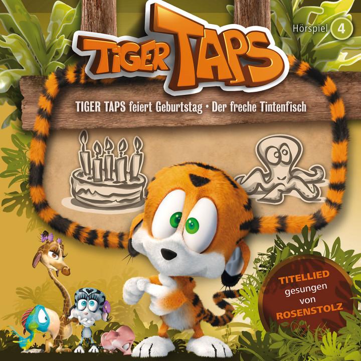 04: Tiger Taps feiert Geburtstag / Der freche Tintenfisch