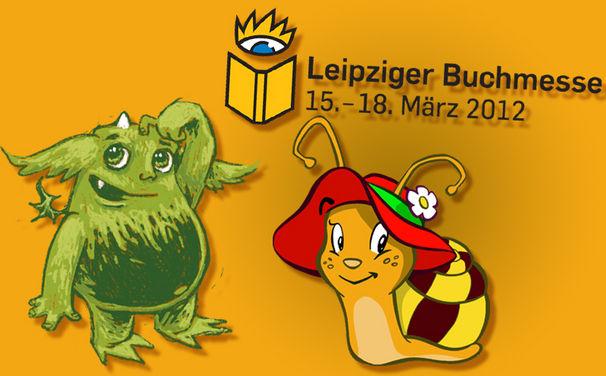 Die kleine Schnecke Monika Häuschen, Trefft Karussell, Monika Häuschen und das Mumpelmonster auf der Leipziger Buchmesse!
