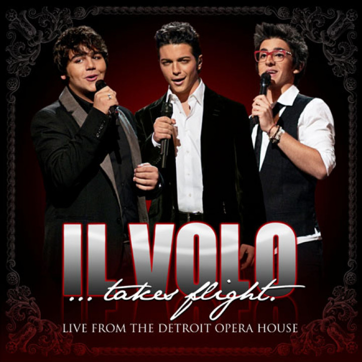 Cover Il Volo.. takes flight CD