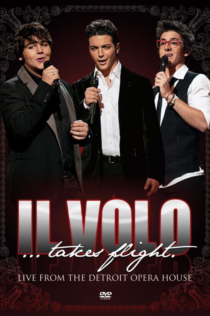Cover Il Volo...Takes Flight DVD