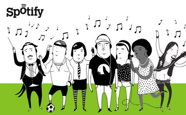 Musik-Dienst Spotify ab sofort auch in Deutschland