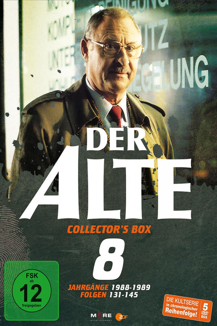 Der Alte Collector's Box Vol. 8 (15 Folgen/5 DVD): Der Alte