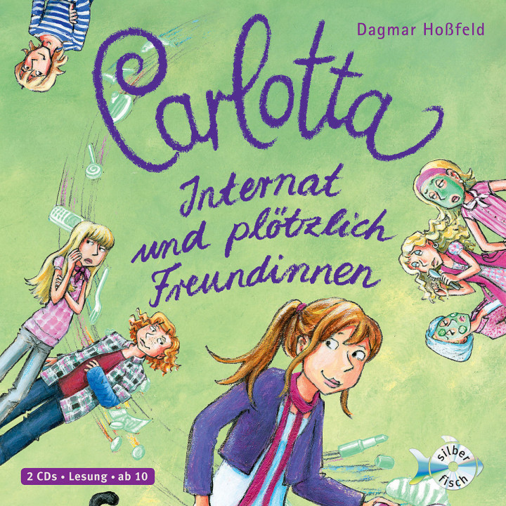 Carlotta - Internat und plötzlich Freundinnen Bd.2: Hoßfeld,Dagmar