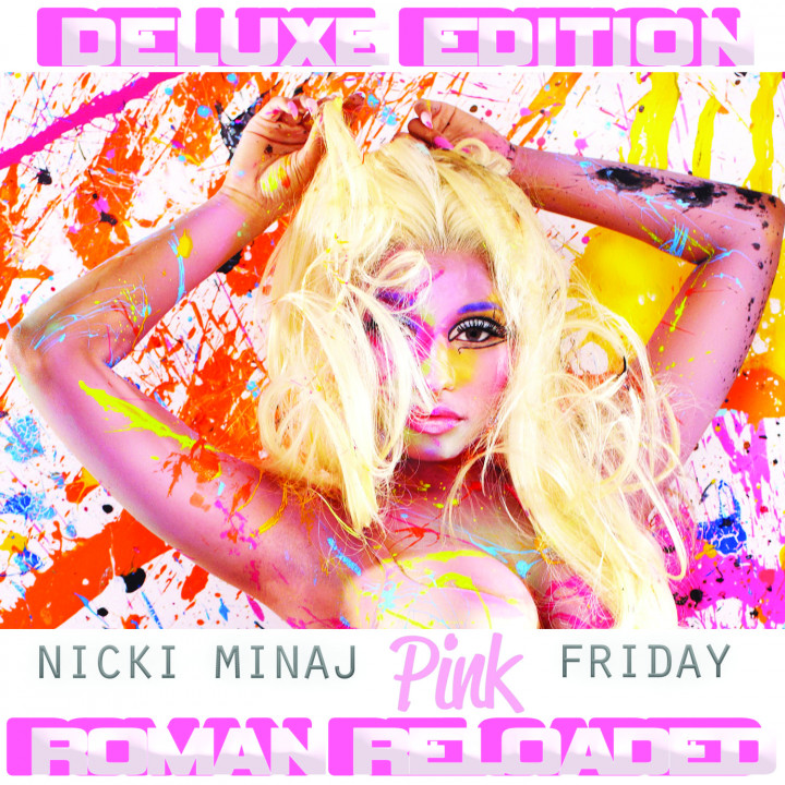 Cover Pink Friday...Roman Reloaded Deluxe Edition