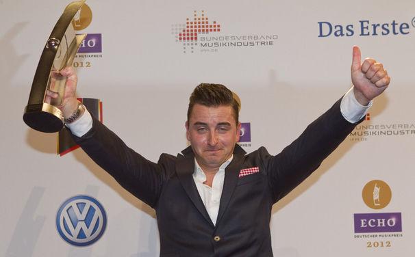 Andreas Gabalier, Der VolksRock'n'Roller holt sich seinen ersten ECHO ab