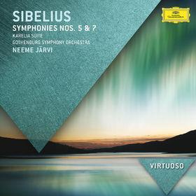 Virtuoso, Sibelius: Symphonies Nos.5 & 7; Karelia Suite, 00028947840404