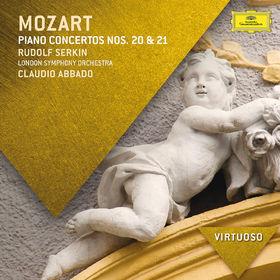 Virtuoso, Mozart: Piano Concertos Nos. 20 & 21, 00028947840374