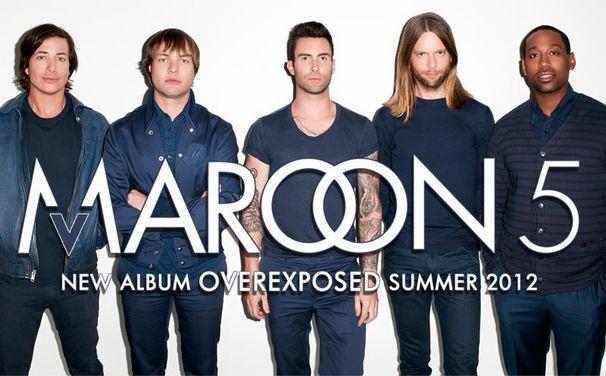 Maroon 5, Jetzt gibt es das Album-Cover zu Overexposed!