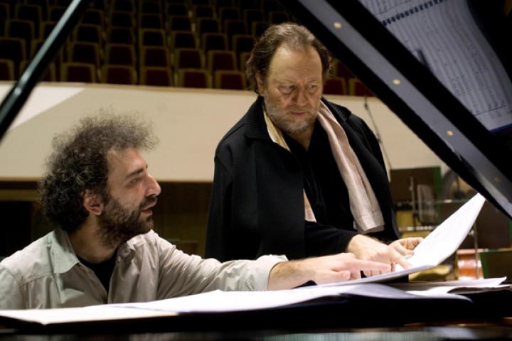 Riccardo Chailly und Stefano Bollani