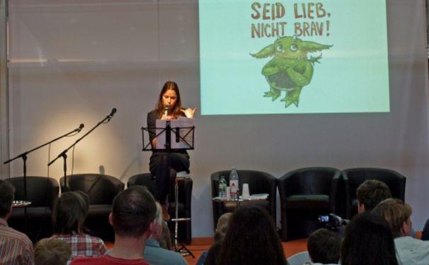 Das Mumpelmonster, Sandrine Mittelstädt liest das Mumpelmonster