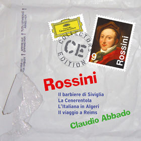 Collectors Edition, Rossini: Il barbiere di Siviglia; La Cenerentola; L'Italiana in Algeri; Il viaggio a Reims, 00028947901259