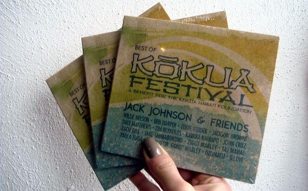 Jack Johnson, Gewinne 1 von 3 Best of Kokua Festival-Alben