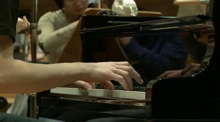 Mozart - Impressionen von den Aufnahmen