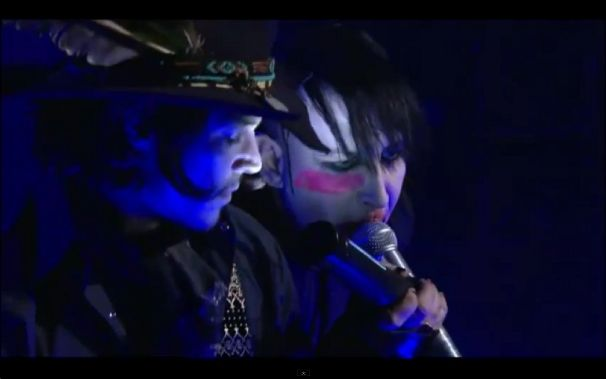 Marilyn Manson, Video: Marilyn Manson und Johnny Depp traten gemeinsam auf