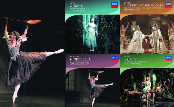 Decca Ballet, Klassiker des Ballett-Repertoires