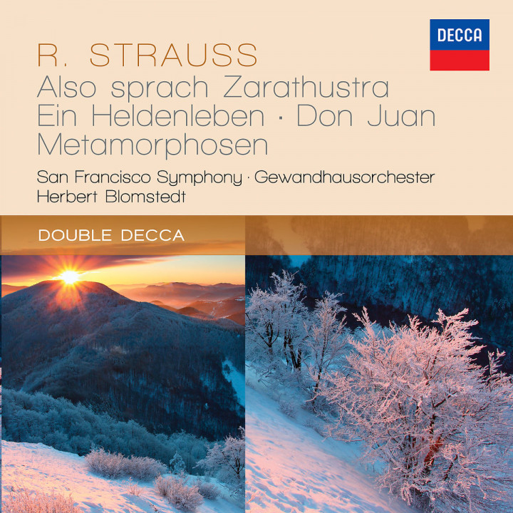 Strauss, R.: Also sprach Zarathustra; Ein Heldenleben; Don Juan; Metamorphosen