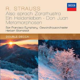 Herbert Blomstedt, Strauss, R.: Also sprach Zarathustra; Ein Heldenleben; Don Juan; Metamorphosen, 00028947842545