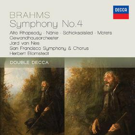 Herbert Blomstedt, Brahms: Symphony No.4; Alto Rhapsody; Nanie, 00028947839378
