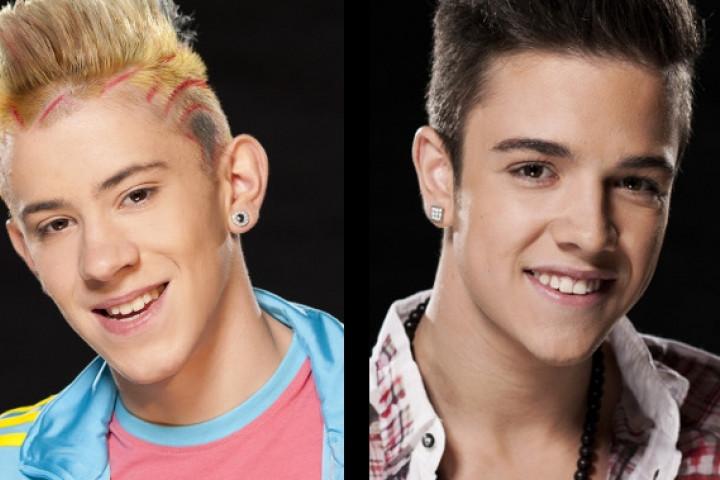 Daniele Negroni und Luca Hänni - Pressefotos Deutschland sucht den Superstar 2012