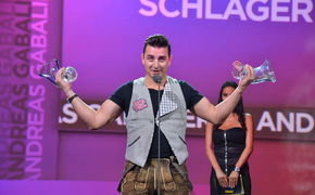 Die Jungen Zillertaler, AMADEUS Award für Andreas Gabalier