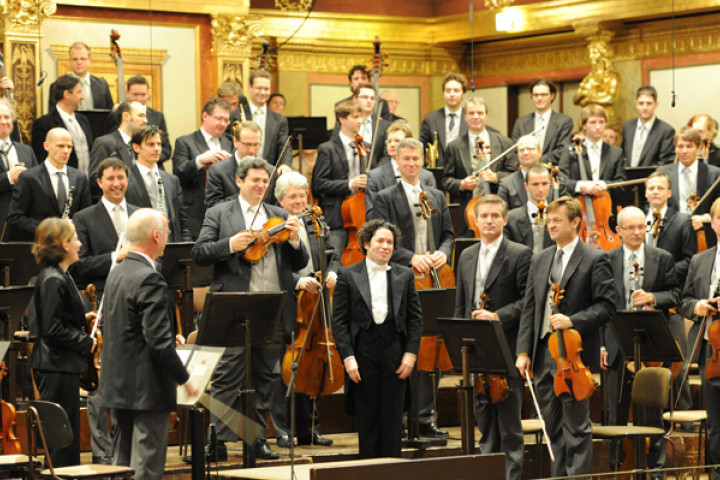 Gustavo Dudamel und die Wiener Philharmoniker