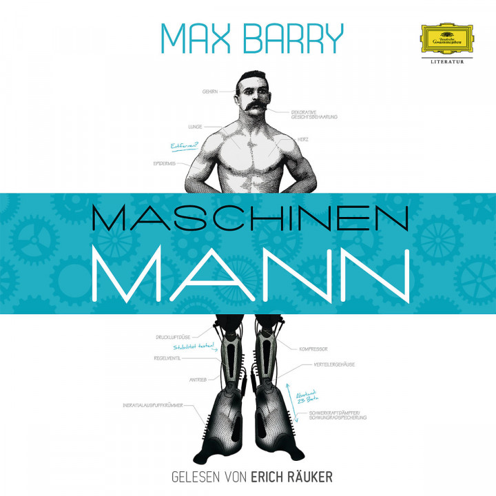 Max Barry: Maschinenmann