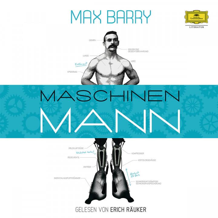 Max Barry: Maschinenmann