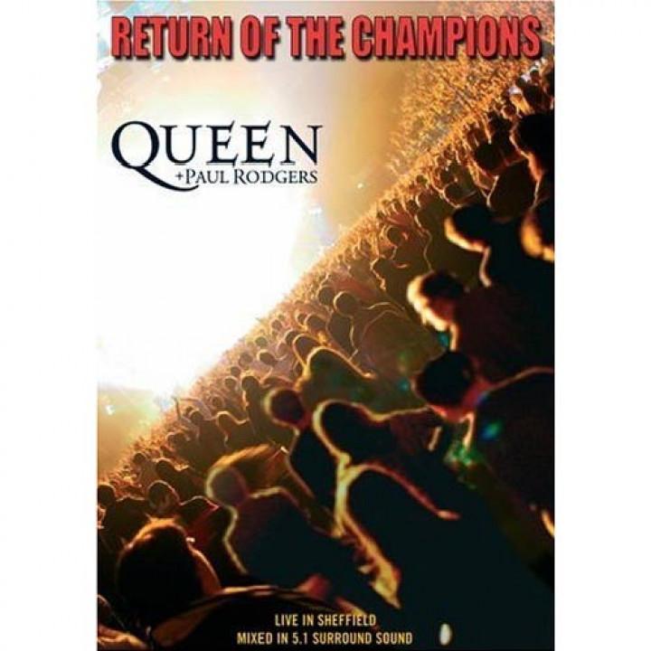 Return Of The Champions - DVD