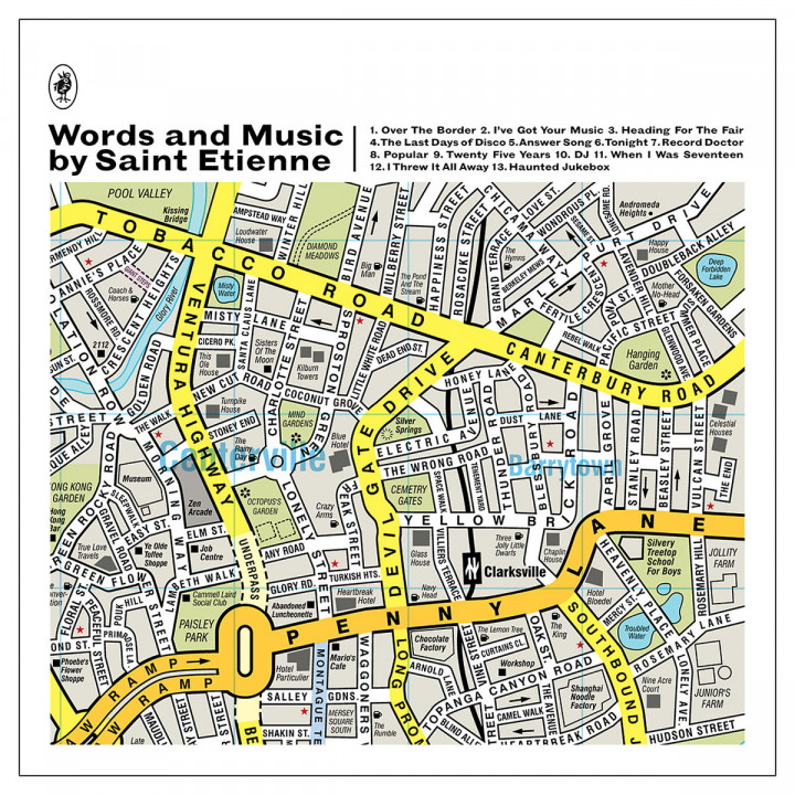 Words And Music By Saint Etienne: Saint Etienne