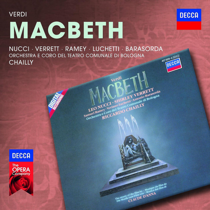Macbeth: Nucci/Verrett/Ramey/Luchetti/Barasorda/Chailly