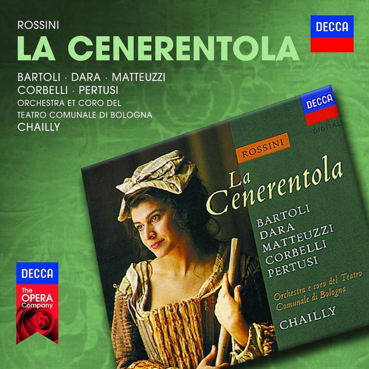 La Cenerentola: Bartoli/Dara/Matteuzzi/Corbelli/Pertusi/Chailly