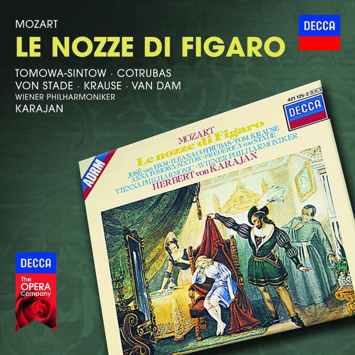 Le nozze di Figaro: Van Dam/Cotrubas/Krause/Tomowa-Sintow/Von Stade/Ka