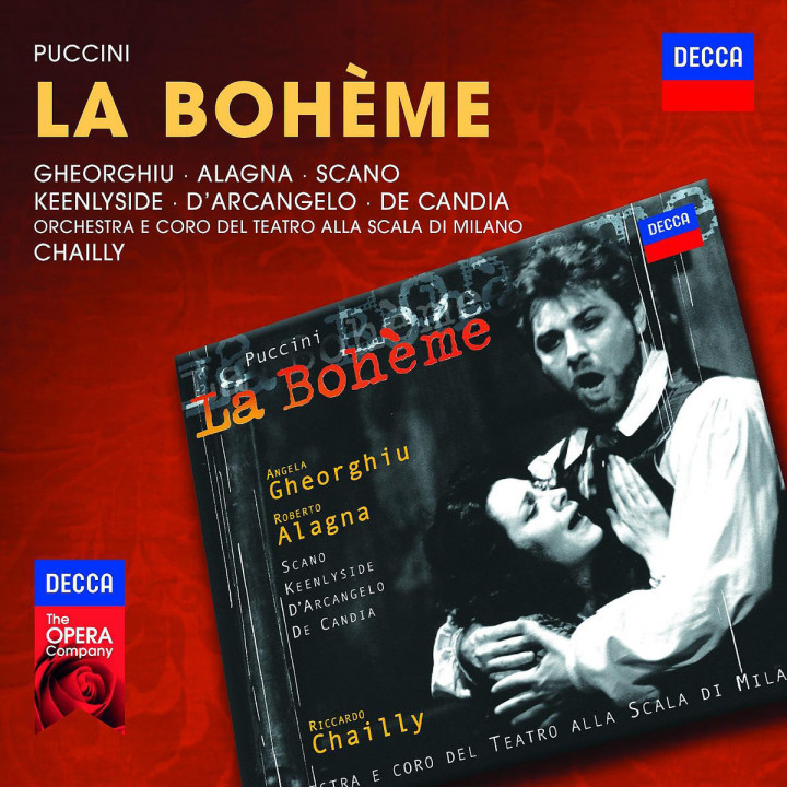 La Boheme: Georghiu/Alagna/Keenlyside/Scano/De Candia/D'Arcan