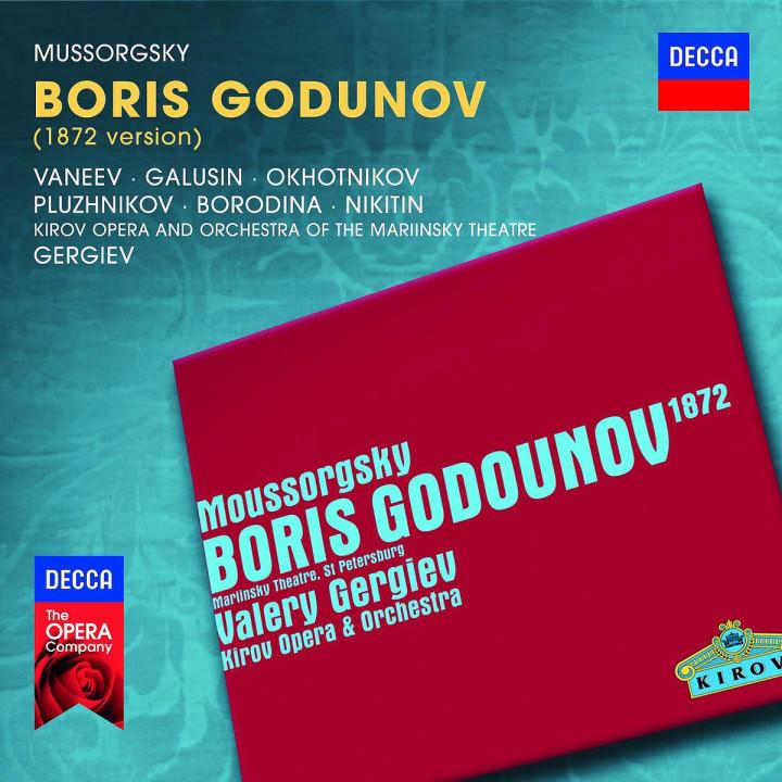 Boris Godunov : Vaneev/Galusin/Ohotnikov/Pluzhnikov/Borodina/Nikit