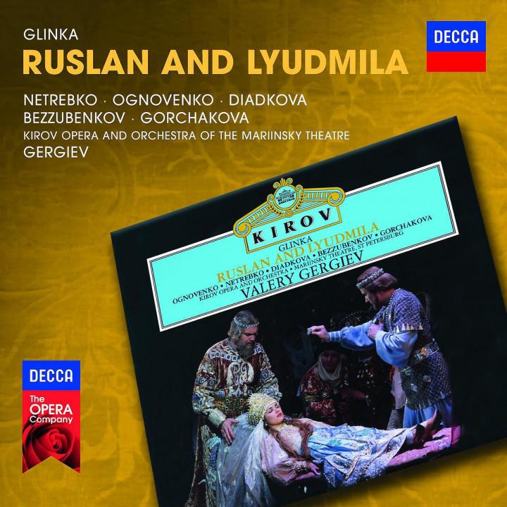 Ruslan and Lyudmila: Ognovienko/Netrebko/Diadkova/Bezzubenkov/Gorchakov