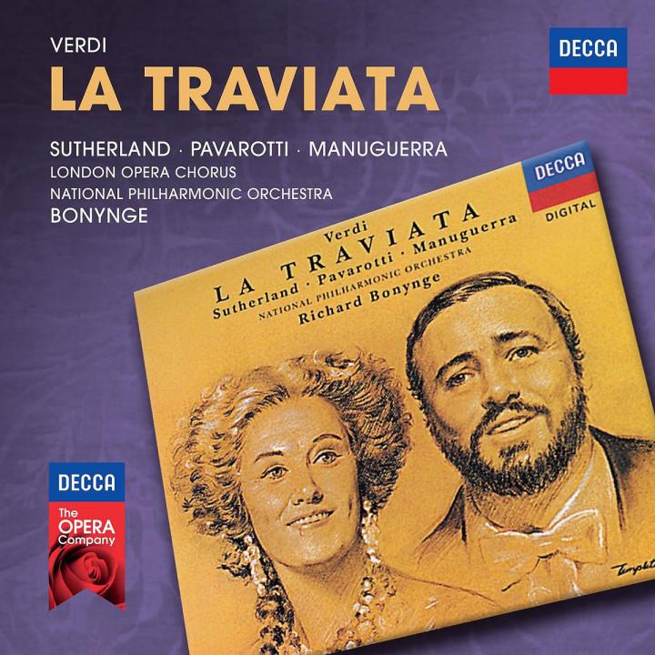 La traviata: Sutherland/Pavarotti/ anuguerra/Bonynge