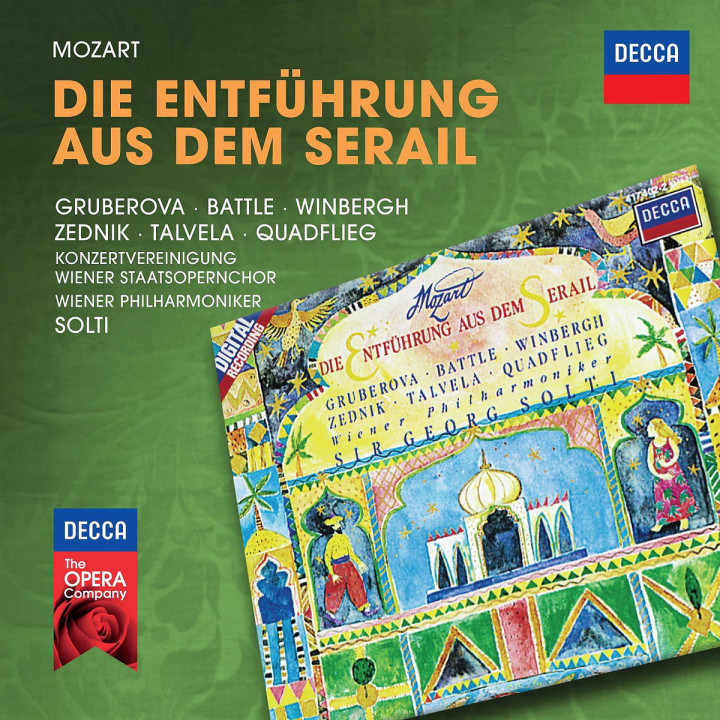 Die Entführung aus dem Serail: Gruberova/Battle/Winbergh/Zednik/Solti