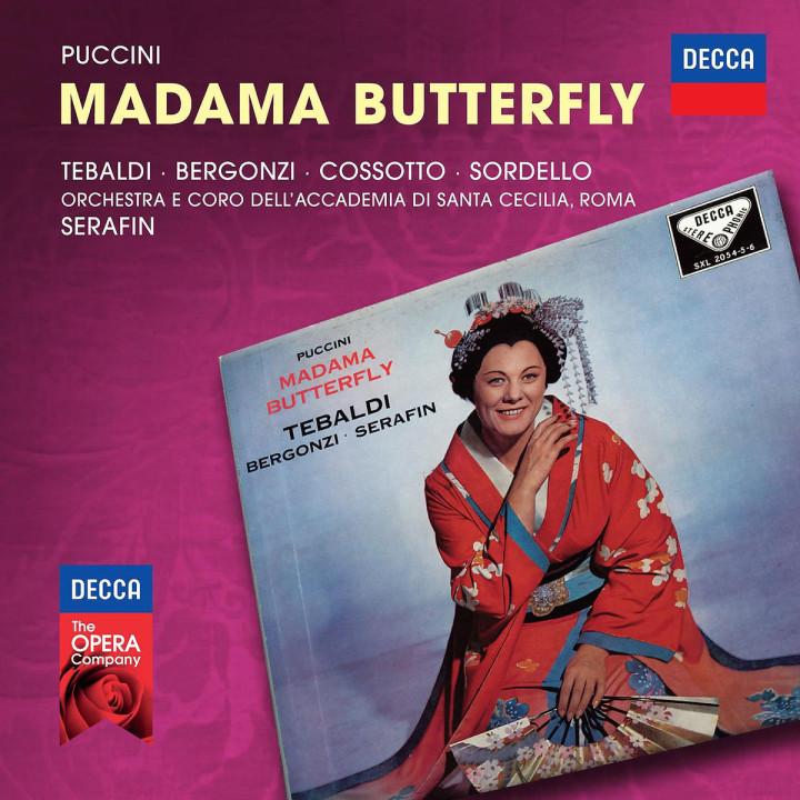 Madama Butterfly: Tebaldi/Bergonzi/Cossotto/Sordello/Serafin