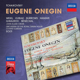 Sir Georg Solti, Tchaikovsky: Eugene Onegin, 00028947841630