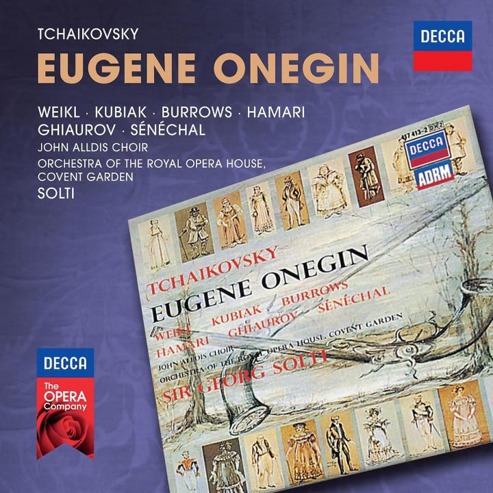 Eugene Onegin: Weikl/Kubiak/Burrows/Hamari/Solti