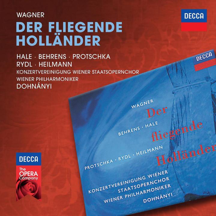 Der fliegende Holländer: Hale/Behrens/Protschka/Rydl/Heilmann/Dohnanyi